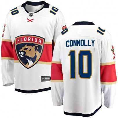 Men's Breakaway Florida Panthers Brett Connolly Fanatics Branded Away Jersey - White