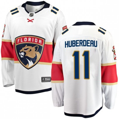 Men's Breakaway Florida Panthers Jonathan Huberdeau Fanatics Branded Away Jersey - White