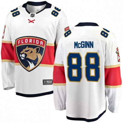 Men's Breakaway Florida Panthers Jamie McGinn Fanatics Branded Away Jersey - White