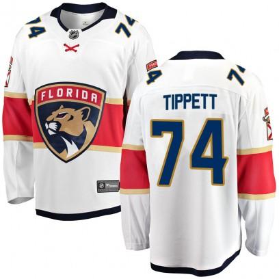 Men's Breakaway Florida Panthers Owen Tippett Fanatics Branded Away Jersey - White