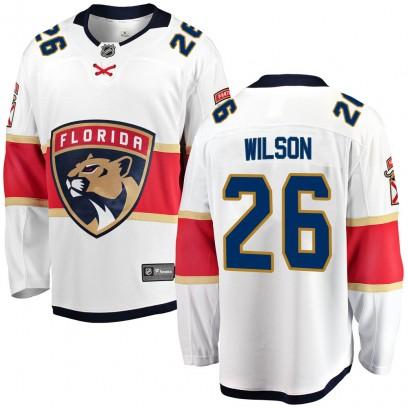 Men's Breakaway Florida Panthers Scott Wilson Fanatics Branded Away Jersey - White