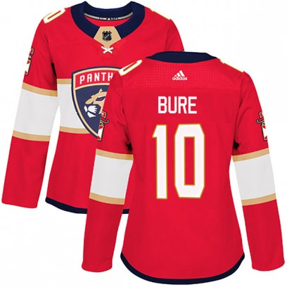 Women's Authentic Florida Panthers Pavel Bure Adidas Home Jersey - Red