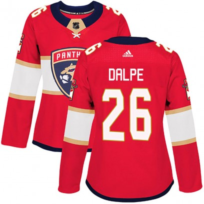 Women's Authentic Florida Panthers Zac Dalpe Adidas Home Jersey - Red
