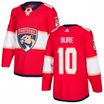 Men's Authentic Florida Panthers Pavel Bure Adidas Home Jersey - Red