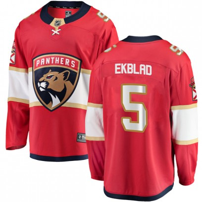 Men's Breakaway Florida Panthers Aaron Ekblad Fanatics Branded Home Jersey - Red