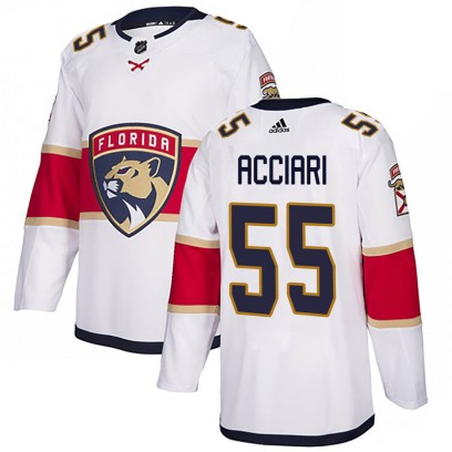 Youth Authentic Florida Panthers Noel Acciari Adidas Away Jersey - White
