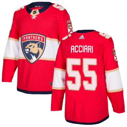 Youth Authentic Florida Panthers Noel Acciari Adidas Home Jersey - Red