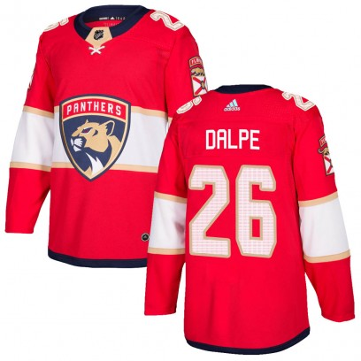 Youth Authentic Florida Panthers Zac Dalpe Adidas Home Jersey - Red