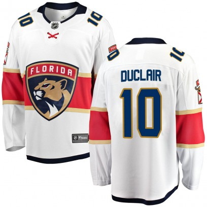Youth Breakaway Florida Panthers Anthony Duclair Fanatics Branded Away Jersey - White