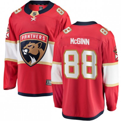 Youth Breakaway Florida Panthers Jamie McGinn Fanatics Branded Home Jersey - Red