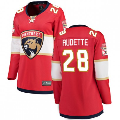 Women's Breakaway Florida Panthers Donald Audette Fanatics Branded Home Jersey - Red