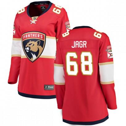 Women's Breakaway Florida Panthers Jaromir Jagr Fanatics Branded Home Jersey - Red