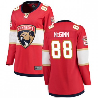 Women's Breakaway Florida Panthers Jamie McGinn Fanatics Branded Home Jersey - Red
