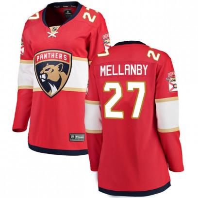 Women's Breakaway Florida Panthers Scott Mellanby Fanatics Branded Home Jersey - Red