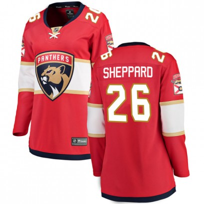 Women's Breakaway Florida Panthers Ray Sheppard Fanatics Branded Home Jersey - Red