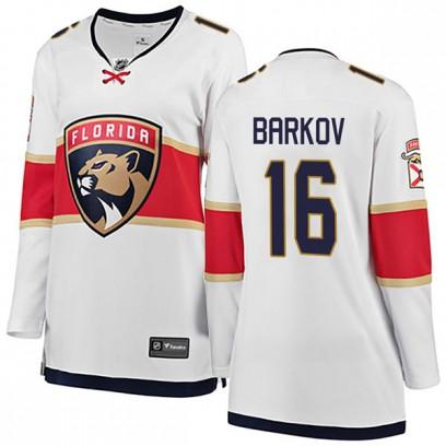 Women's Breakaway Florida Panthers Aleksander Barkov Fanatics Branded Away Jersey - White