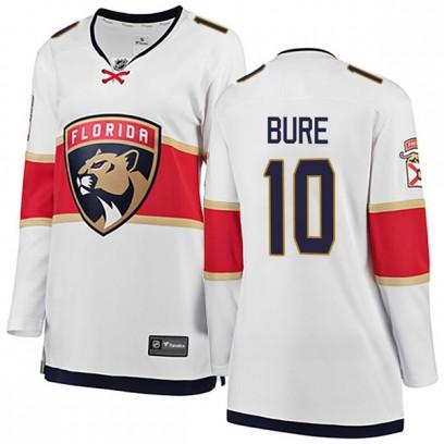 Women's Breakaway Florida Panthers Pavel Bure Fanatics Branded Away Jersey - White