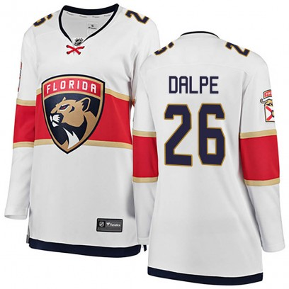 Women's Breakaway Florida Panthers Zac Dalpe Fanatics Branded Away Jersey - White