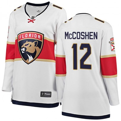 Women's Breakaway Florida Panthers Ian McCoshen Fanatics Branded Away Jersey - White