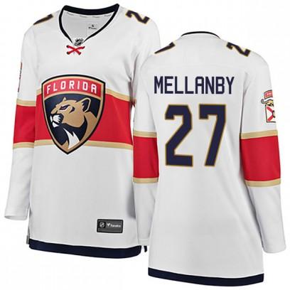 Women's Breakaway Florida Panthers Scott Mellanby Fanatics Branded Away Jersey - White