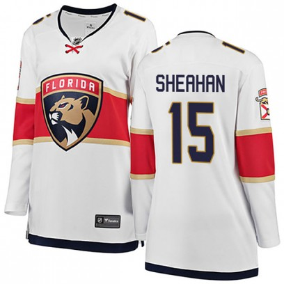 Women's Breakaway Florida Panthers Riley Sheahan Fanatics Branded Away Jersey - White