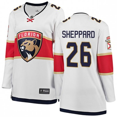 Women's Breakaway Florida Panthers Ray Sheppard Fanatics Branded Away Jersey - White
