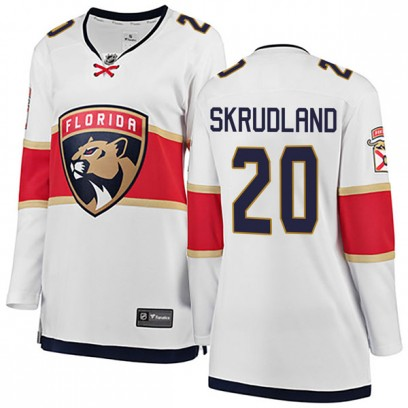 Women's Breakaway Florida Panthers Brian Skrudland Fanatics Branded Away Jersey - White