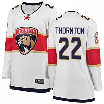 Women's Breakaway Florida Panthers Shawn Thornton Fanatics Branded Away Jersey - White