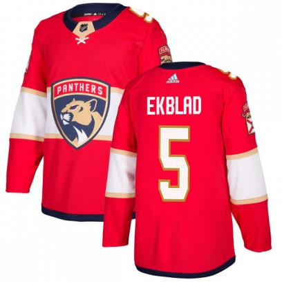 Men's Authentic Florida Panthers Aaron Ekblad Adidas Jersey - Red