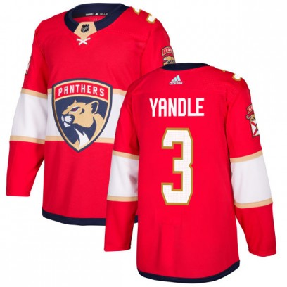 Men's Authentic Florida Panthers Keith Yandle Adidas Jersey - Red